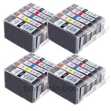 20 Pk Ink Cartridge For Canon PGI-5BK CLI-8 PIXMA MP810 MP830 MP950 MP960 MP970