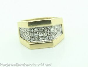 18ct Yellow Gold Diamond Ring Solid