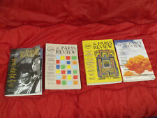 Four copies of Paris Review 223 224 225 226 years 2017-18