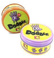 Lot de 2 jeux Dobble - Classique et Kids - Asomdée - Incomplets (Jouables)