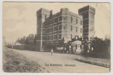 Wiltshire postcard - The Barracks, Devizes - P/U 1917