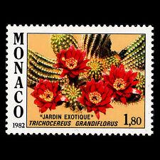 Monaco 1982 - Plants in Exotic Garden Flowers Flora - MNH