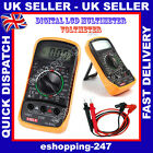 DIGITAL LCD MULTIMETER VOLTMETER AMMETER AC DC METER OHM CIRCUIT TESTER E193