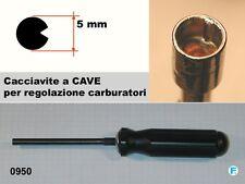 Cacciavite EMAK per regolazione carburazione decespugliatori con scanso interno