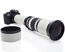 Opteka 650-1300 mm (avec 2x- 1300-2600 mm) Téléobjectif Zoom pour Nikon DSLR