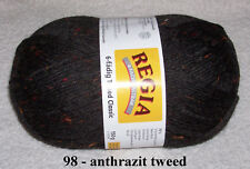 Regia Tweed Classic 6-fädig 150g Fb.0098 Anthrazit