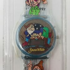 Vintage Disney Snow White And The Seven Dwarfs Hologram Digital Wrist Watch New