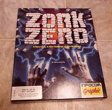 "Zork Zero - Infocom - 3.5"" & 5.25"" Floppy Disks for DOS"