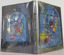 MARC CHAGALL The Jerusalem Windows FIRST EDITION W/ LITHOGRAPHS