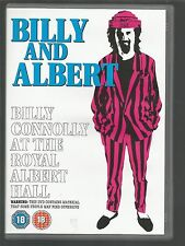 BILLY CONNOLLY - BILLY AND ALBERT - At The Royal Albert Hall - UK R2 DVD - vgc