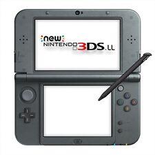 Nintendo 3ds LL Console System Metallic Black Japan