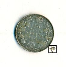 Canada 1914  50ct Coin , Fine