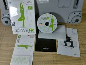 Nintendo Wii Balance Board & Wii Fit Plus Game - White - Tested - VGC