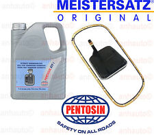 5-Liters ATF Fluid  & Meistersatz Transmission Filter Kit E46 with A5S Trani