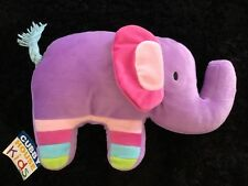 CUBBY HOUSE ELEPHANT PARTY NOVELTY CUSHION. NEW WITH TAGS.