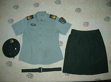 Obsolete 07's China PLA Army Woman NCO Summer Short-sleeved Uniform,Set,A