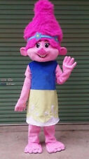 High Quality Adult Trolls Princess Poppy Mascot Costume Birthday Costume Cosplay