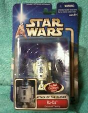 R2-D2 coruscant sentry-  Star Wars attack of the Clones figure  2004 *OPEN BOX