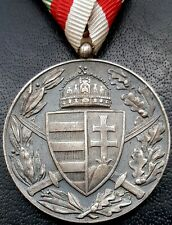 ✚9981✚ Hungarian Kingdom post WW1 Horthy Commemorative Medal of the World War