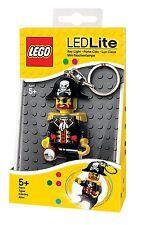 LEGO LED Lite Captain Brickbeard Pirat Taschenlampe Kinder Schlüsselanhänger