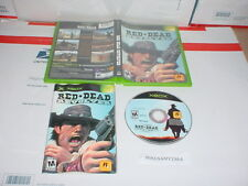 RED DEAD REVOLVER game complete in case w/ Manual - Microsoft XBOX