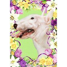 Easter House Flag - Bull Terrier 33099