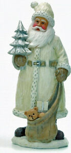 NEW  SANTA FATHER CHRISTMAS INDOOR CHRISTMAS DECORATION, GREAT DETAIL