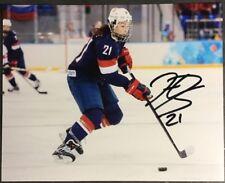 Hilary Knight Signed 8x10 Photo Autograph USA Hockey Wisconsin Badgers (x)
