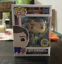 New Funko POP! Jeff Dunham and peanut exclusive limited Autographed In Hand