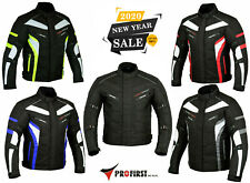 Motorbike Jacket Motorcycle Waterproof Textile Cordura Jacket CE Armoured