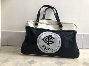Carlton Blues Football Footy Club VFL AFL Vintage School Bag