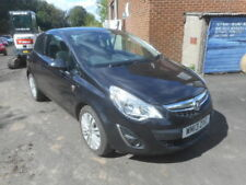 2013 VAUXHALL CORSA 1.2 ENERGY AC SALVAGE DAMAGED REPAIRABLE BLACK PETROL CAR