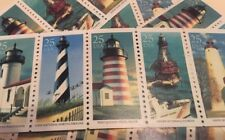 10 Historic Lighthouse Stamps ...Dress Up Your Mail