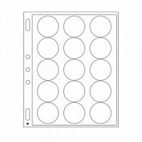 Lighthouse Grande Encap 44/45 mm Pages for Airtite I Size Coin Capsule Pack of 4