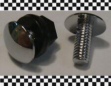 2x Chromstopfen Chromschraube Antennenloch Durchmesser 30mm  704 aus BERLIN