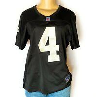 Derek Carr Oakland Raiders NFL Pro Line Women's Replica Jersey by Fanatics - Bla
