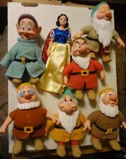Applause Disney Snow White And The Seven Dwarfs Figures Set Collection Lot of 7
