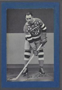 1934-44 Beehive Group I New York Americans Hockey Photos #237 Joe Lamb