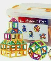 Magnetic Building Blocks-64 PCS Kids Magnet Toys Construction