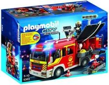Factory PLAYMOBIL 5363 Fire Engine With Lights and Sounds - Y99