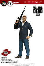 "THE Walking Dead COLORE TOP ROSSO Abraham FORD 7"" figure McFarlane in magazzino"