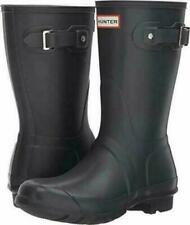 Hunter Women's Original Short Rain Boot, Dark Slate, Size 10 NO BOX