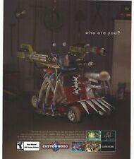 Custom Robo Print Ad/Poster Art Nintendo Gamecube
