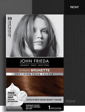 John Frieda Precision Foam Colour 6N Light Natural Brown 130ml