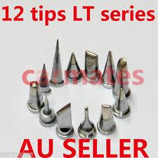 12PCs Solder Soldering Station Iron TIPs LT FOR Weller WSP80 WSD130 WSD150 WSD80