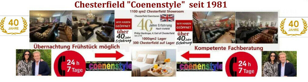 """""""Coenenstyle"""" Chesterfield"""