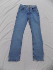 New Vtg Mudd Blue Jeans Distressed Frayed & Slit Hem Denim Jr 7 29X31 4DP229