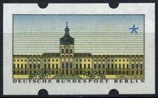 Berlin 1987, 10pf ATM Machine Label MNH Error Printed On Back #D72818