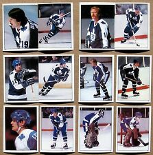 (36) TORONTO MAPLE LEAFS 1982 TOPPS STICKERS - NM/MT - TREMBLEY, ANDERSON, VAIVE