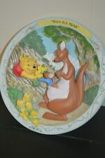 Bradford Exchange Winnie The Pooh And Friends Plate -Silly Old Bear